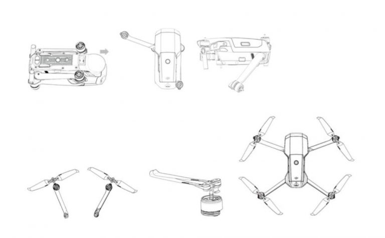 Leaked Images Show DJI Mavic Air 2, Release Rumored to Be