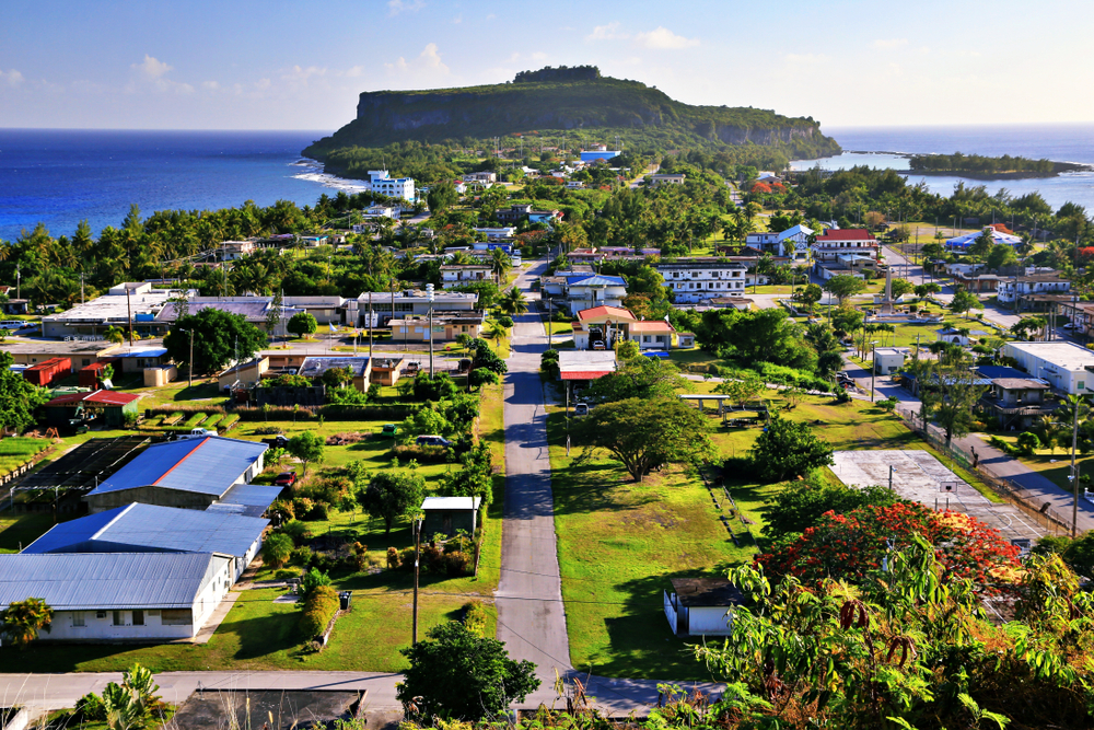 Song Song village in Rota, Northern Mariana Islands (Shutterstock)