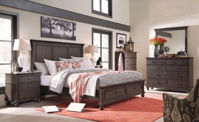 Corona 5 Piece Queen Storage Bedroom Set Harrington Home