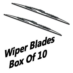 wiper blades box of 10