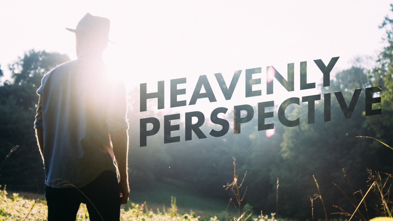 Heavenly Perspective – title – The Rock