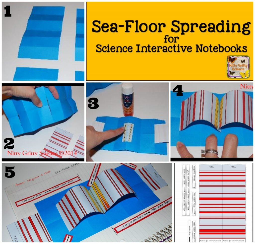 Plate Tectonics And Sea Floor Spreading For Science