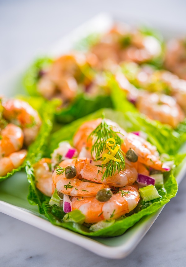 Grilled Shrimp With Capers : grilled, shrimp, capers, Caper, Shrimp, Salad, Romaine, Southern, Dishes