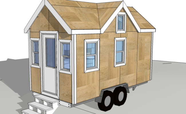 Floor Plans For Tiny Houses On Wheels Top 5 Design