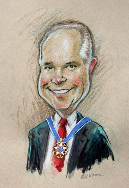Rush Limbaugh medal of freedom (Bill Wilson studio) spectator.org