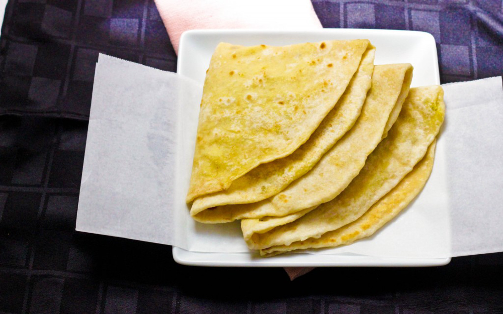 Dhalpuri Roti