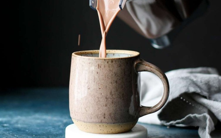 Healthy Peanut Butter Hot Chocolate
