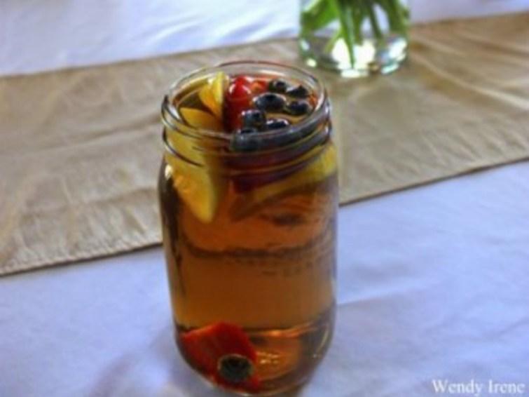 Vegan Fruit Infused Sun Tea