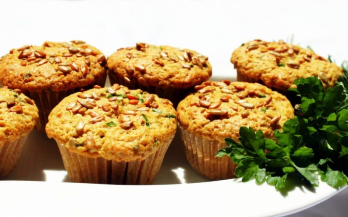 Vegan Herb Beer Muffins