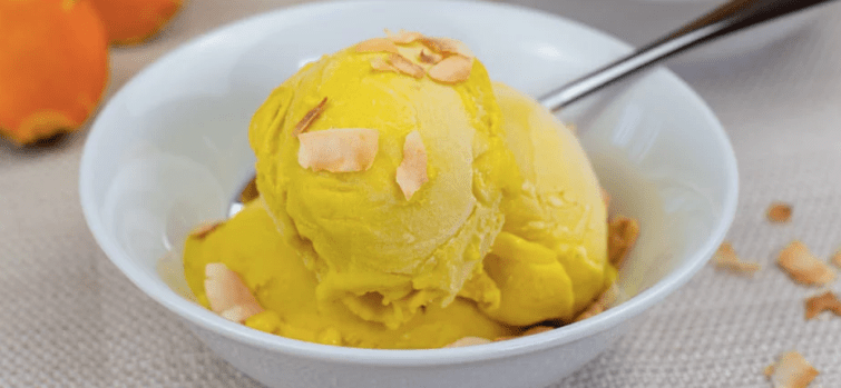 Tumeric Ginger Ice Cream