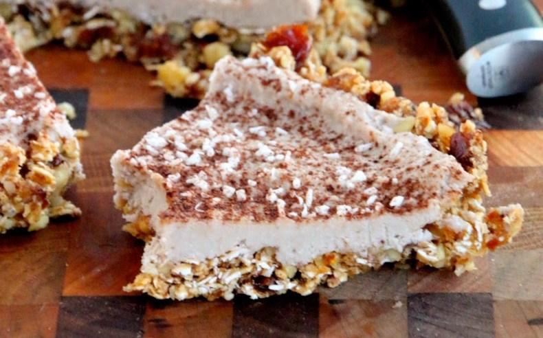 Vegan No-Bake Banana Coconut Cream Pie
