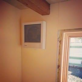 panasonic whisperwall exhaust fan
