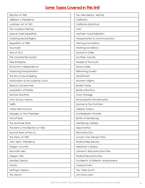 small resolution of History Topics For 8th Grade - The Best Picture History