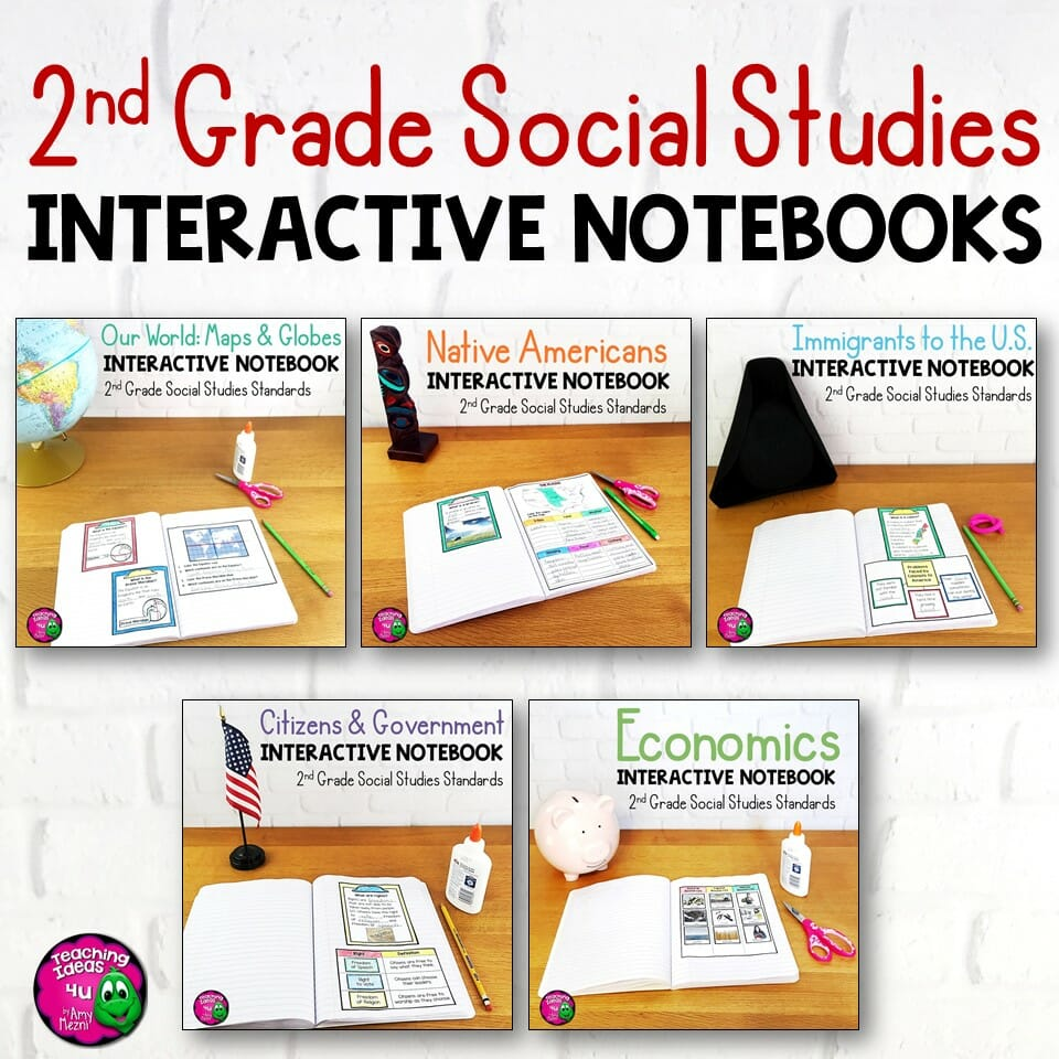 hight resolution of 2nd Grade Social Studies Interactive Notebook BUNDLE 5 Units - Teaching  Resources and Lesson Plans - Teaching Ideas 4U by Amy Mezni