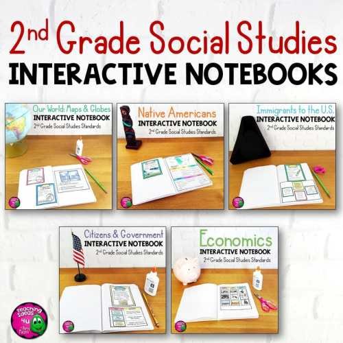 small resolution of 2nd Grade Social Studies Interactive Notebook BUNDLE 5 Units - Teaching  Resources and Lesson Plans - Teaching Ideas 4U by Amy Mezni