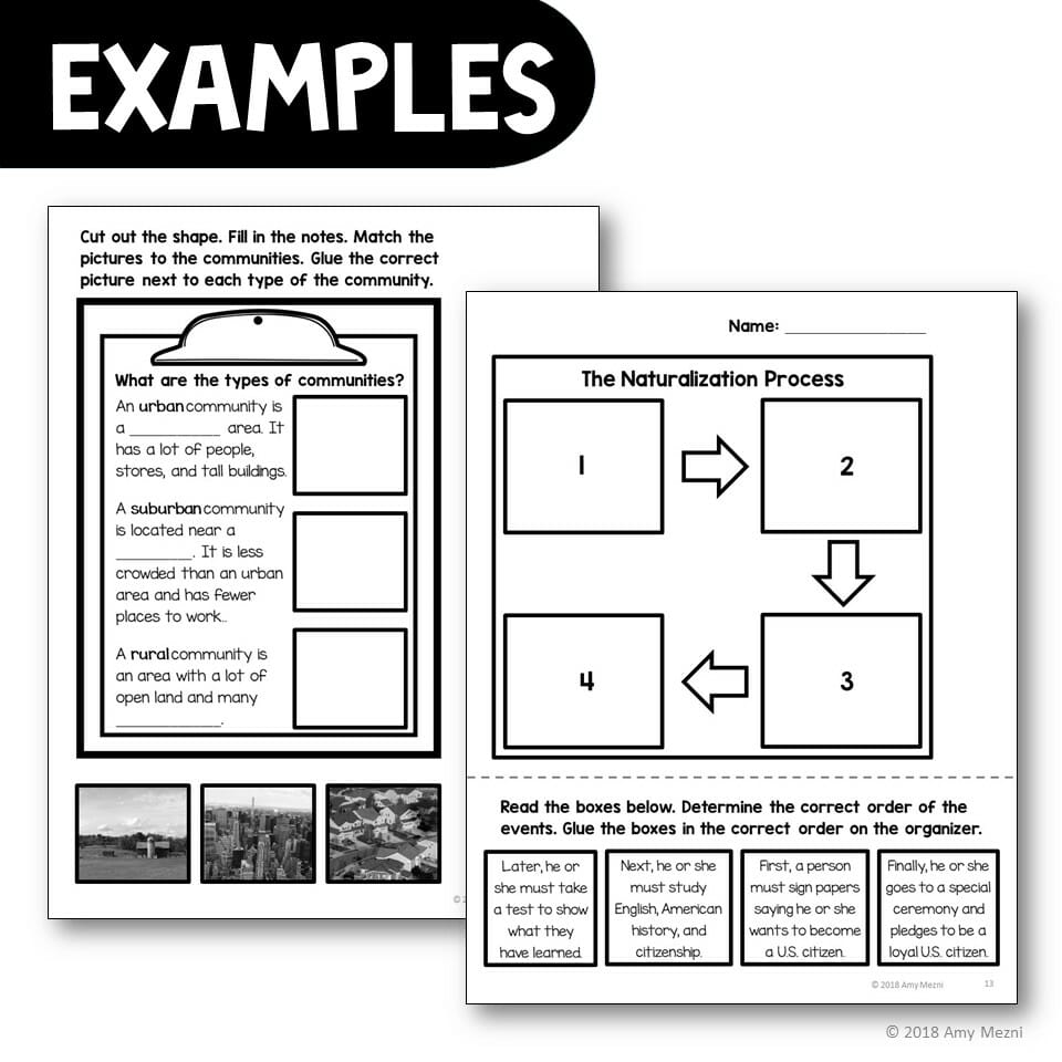 medium resolution of 2nd Grade Social Studies Interactive Notebook BUNDLE 5 Units - Teaching  Resources and Lesson Plans - Teaching Ideas 4U by Amy Mezni