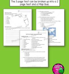 Florida Geography \u0026 Early People Interactive Notebook 4th Grade Unit 1 -  Teaching Resources and Lesson Plans - Teaching Ideas 4U by Amy Mezni [ 1056 x 816 Pixel ]