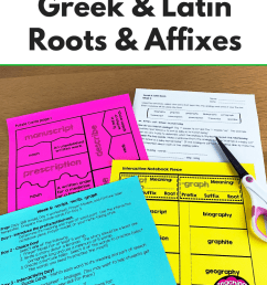 How to Effectively Teach Greek \u0026 Latin Roots - Teaching Resources and  Lesson Plans - Teaching Ideas 4U by Amy Mezni [ 1102 x 735 Pixel ]