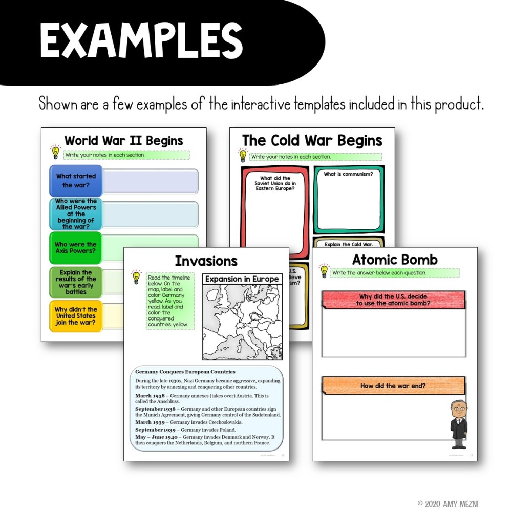 medium resolution of 6th Grade World War 2 Worksheets   Printable Worksheets and Activities for  Teachers