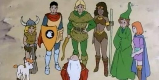 The Dungeons & Dragons Cartoon: 30 Years Old Today - GeekDad