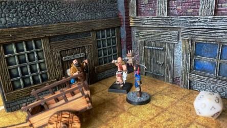 Kickstarter Alert! Build a Fantasy Town with Fantasy Facades 3D RPG Terrain GeekDad