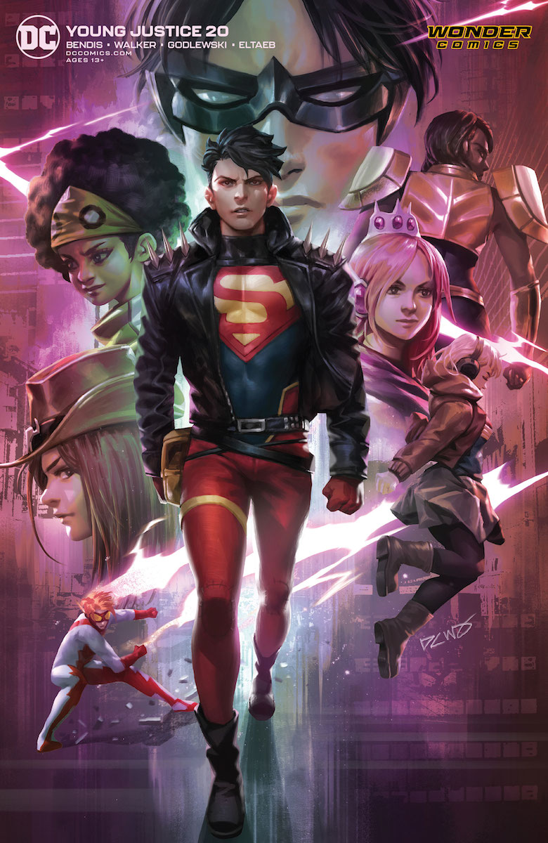 Young Justice #20 Review The Aspiring Kryptonian