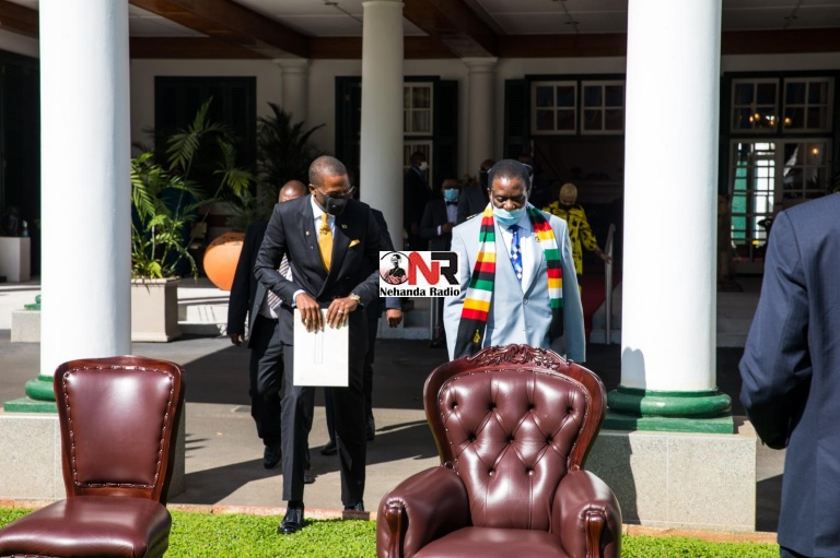 Prophet Uebert Angel has been appointed Presidential Envoy and Ambassador at Large by President Emmerson Mnangagwa and sworn in today at State House.