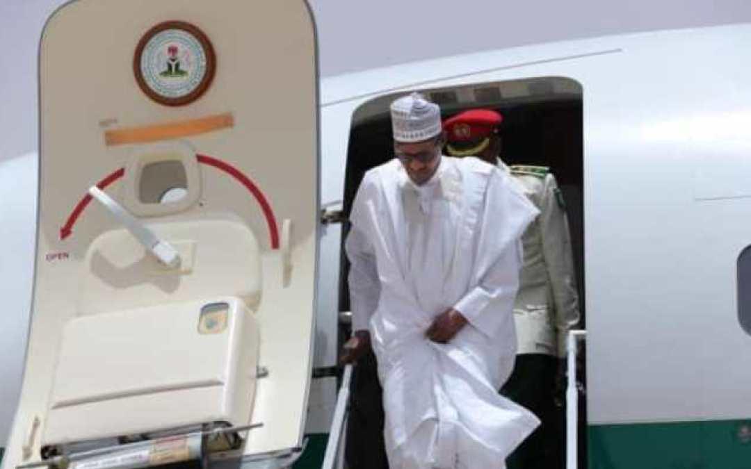 Tight security, traffic‐free roads in Apapa as Buhari visits Lagos