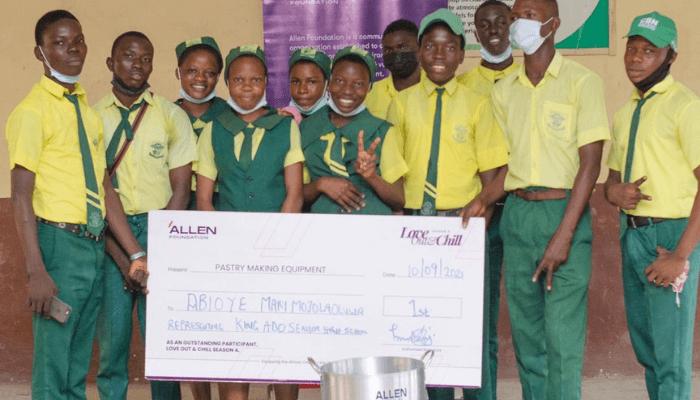 Allen Foundation youth empowerment