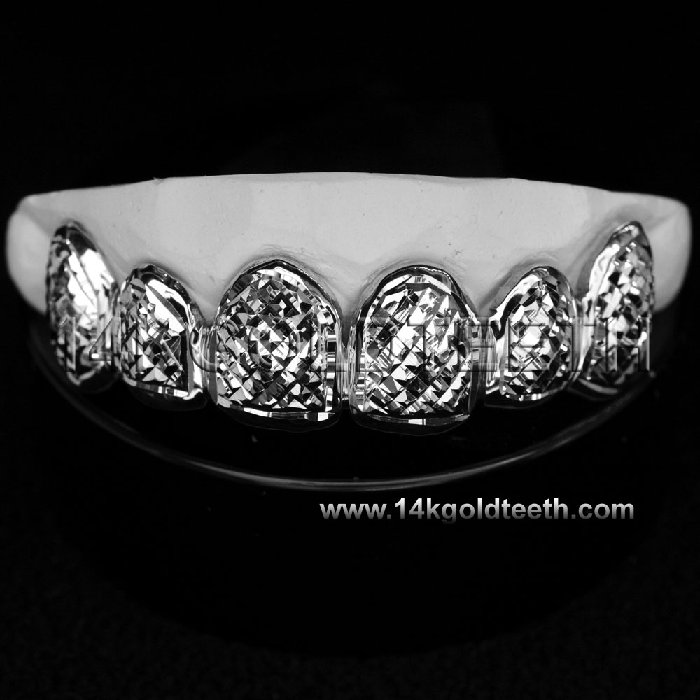Top Silver Grillz - TS 10302