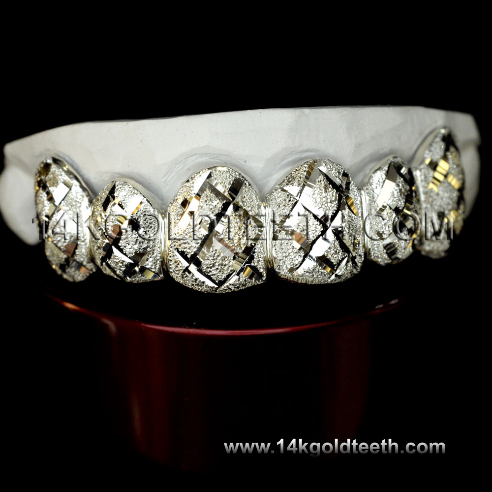 Top Silver Grillz - TS 10318