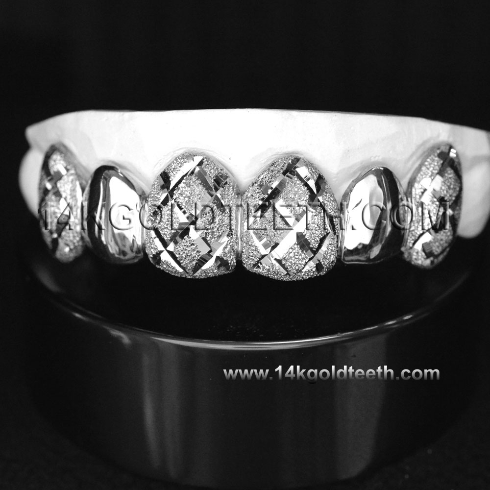 Top Silver Grillz - TS 10323