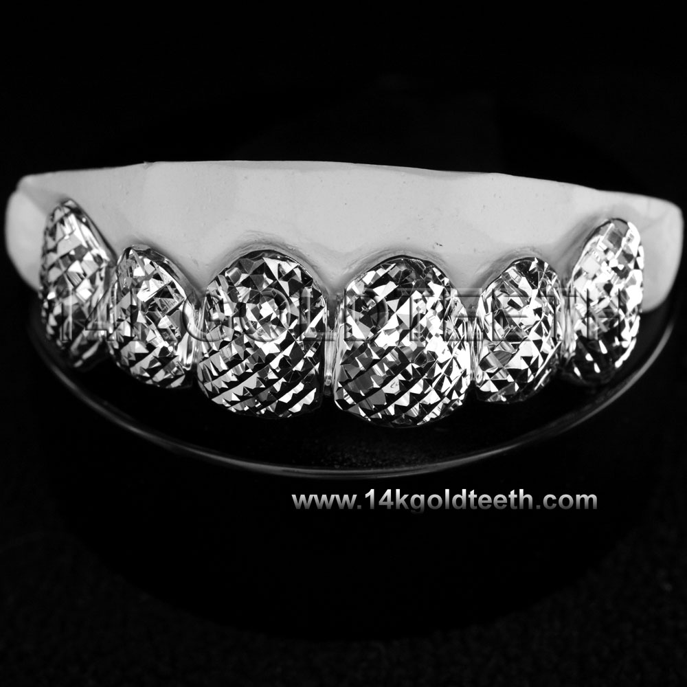 Top Silver Grillz - TS 10316