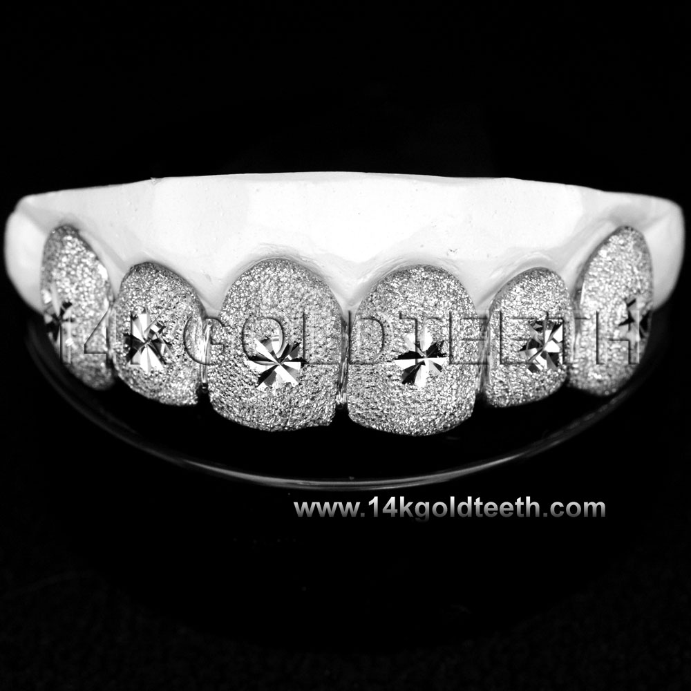 Top Silver Grillz - TS 10315