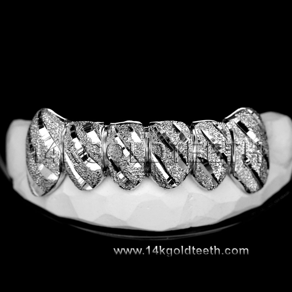 Bottom Silver Grillz - BS 20309