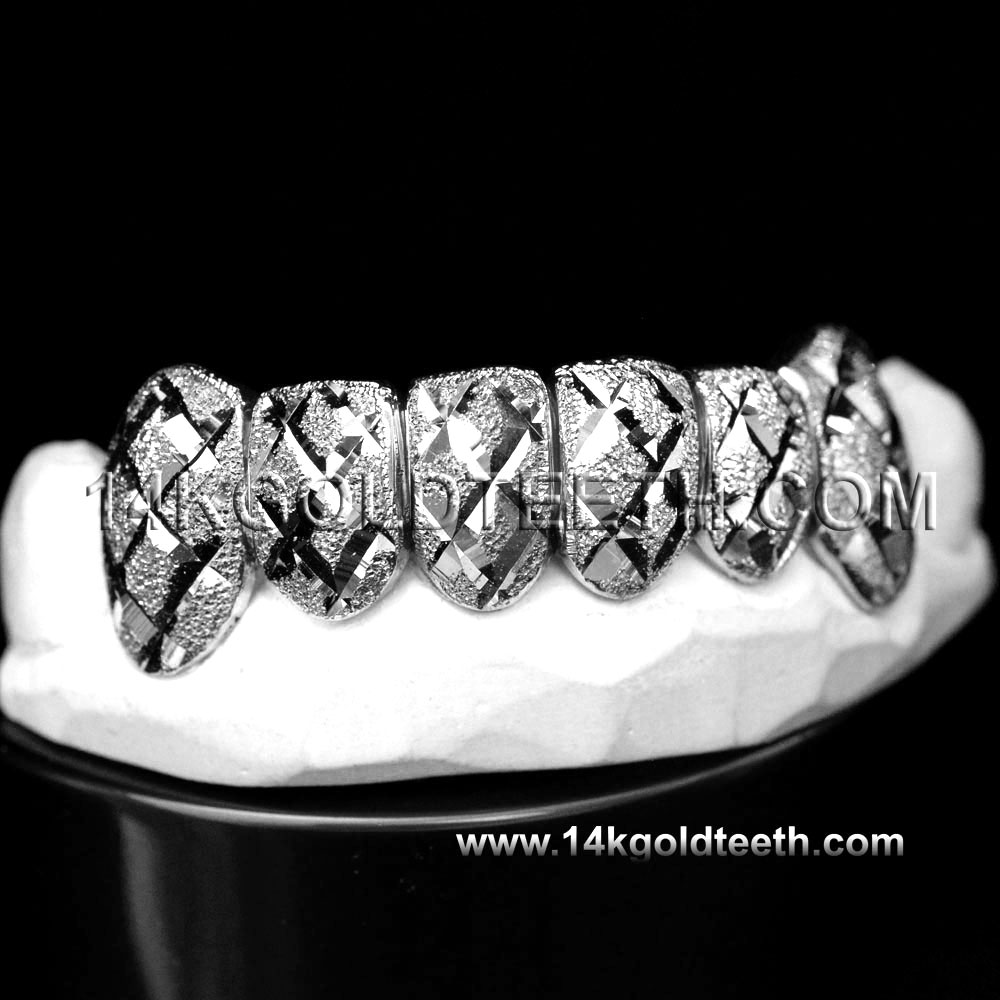 Bottom Silver Grillz - BS 20307