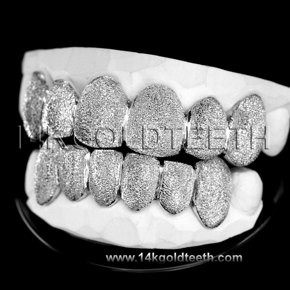Top & Bottom Silver Grillz - TBS 30311