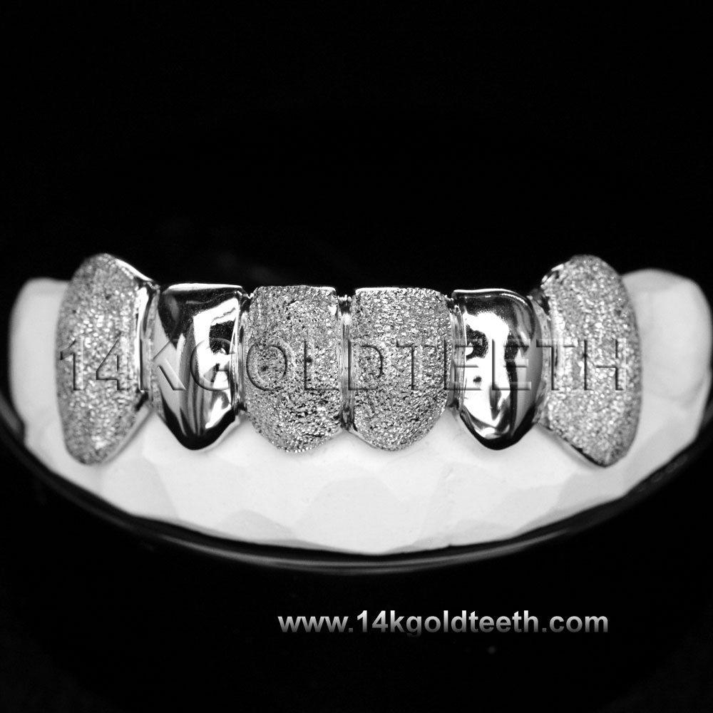 Bottom Silver Grillz - BS 20314