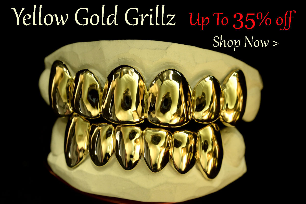 Yellow Gold Teeth & Grillz