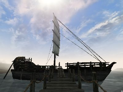 The prison ship arrives in Seyda Neen