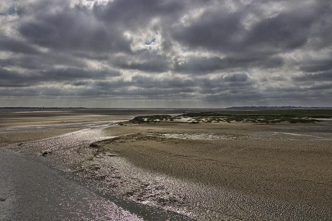 Somme-Bucht Ebbe