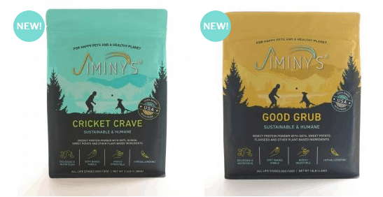 cricket and insect protein dog foods