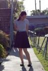 Polo Shirt with Skirt