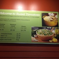 On the hunt for decent food - Sweet Tomatoes - Kissimmee, Florida