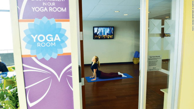 Chicago Midway - Yoga Room