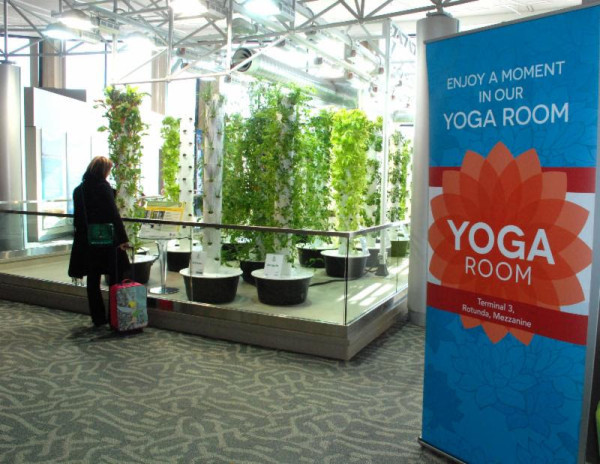 Chicago O'Hare - Yoga Room