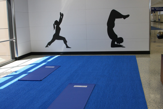 Dallas-Fort Worth - Yoga Room