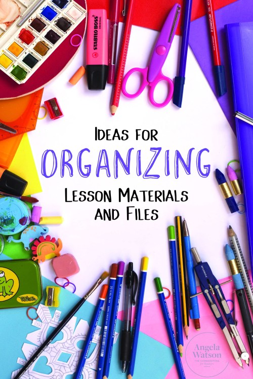 small resolution of Ideas for Organizing Lesson Materials and Files