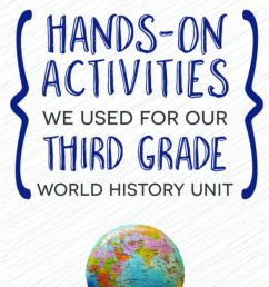 Hands-on activities we used for our third grade world history unit [ 1024 x 768 Pixel ]
