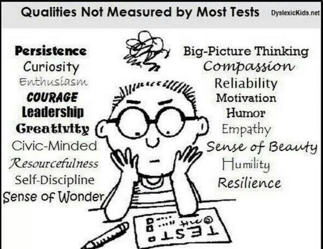 Dear students: you are so much more than a test score